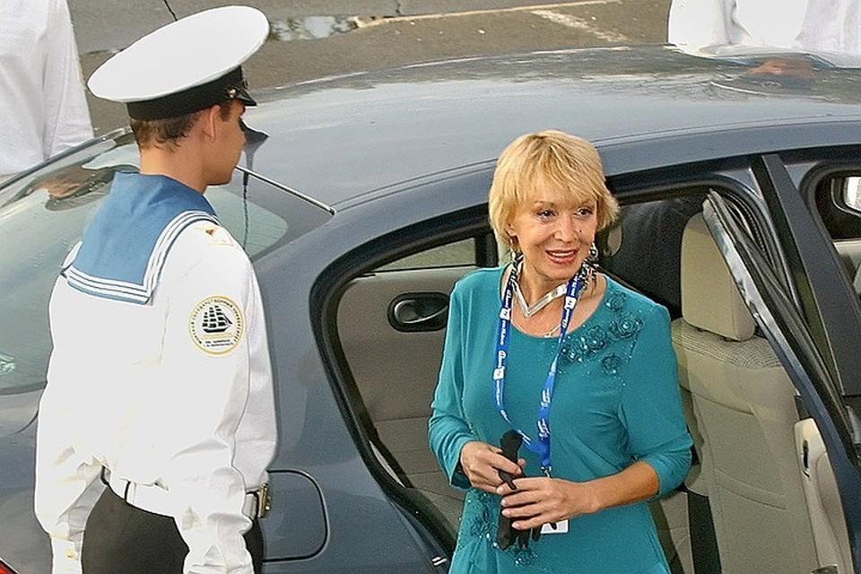 Ирина Печерникова на открытии кинофестиваля в 2007 г. Фото: ИТАР-ТАСС/ Владимир Саяпин