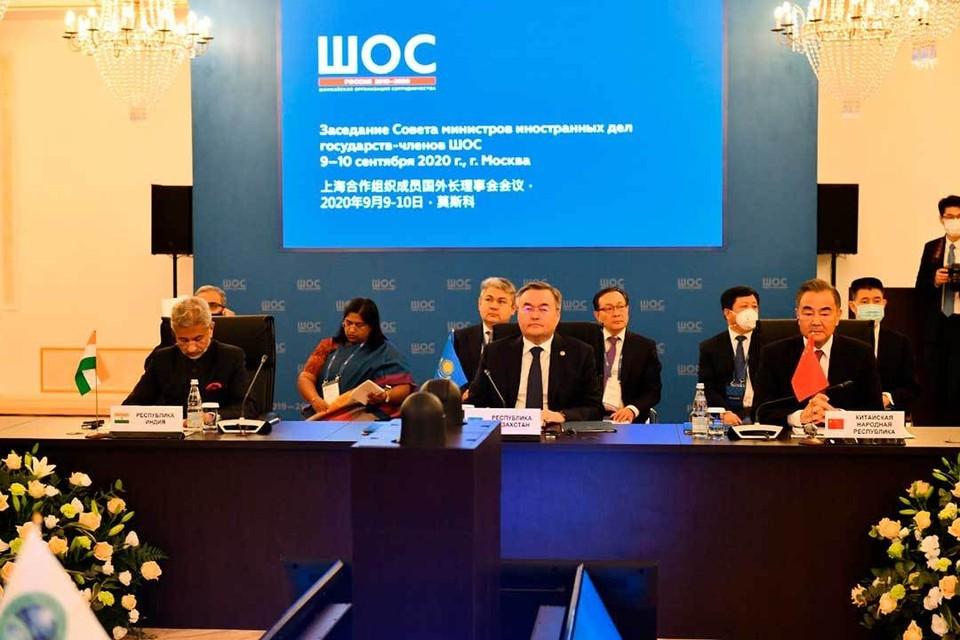 В Москве прошла встреча министров иностранных дел государств-членов Шанхайской организации сотрудничества. Фото: https://www.gov.kz/
