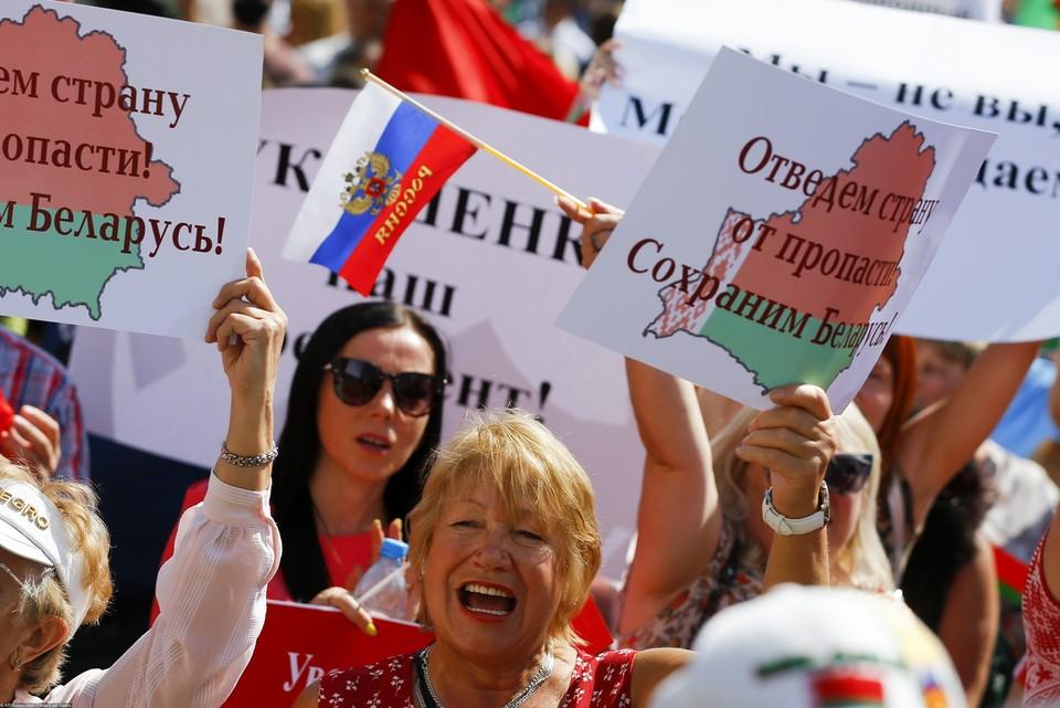 Пока Беларусь надежный союзник России