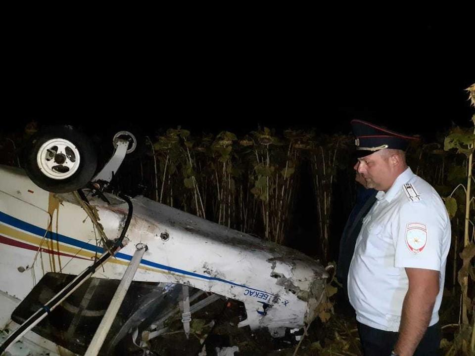 Летчика доставили в больницу, но спасти его не удалось