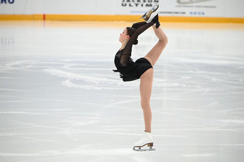 Фигуристка Анна Щербакова