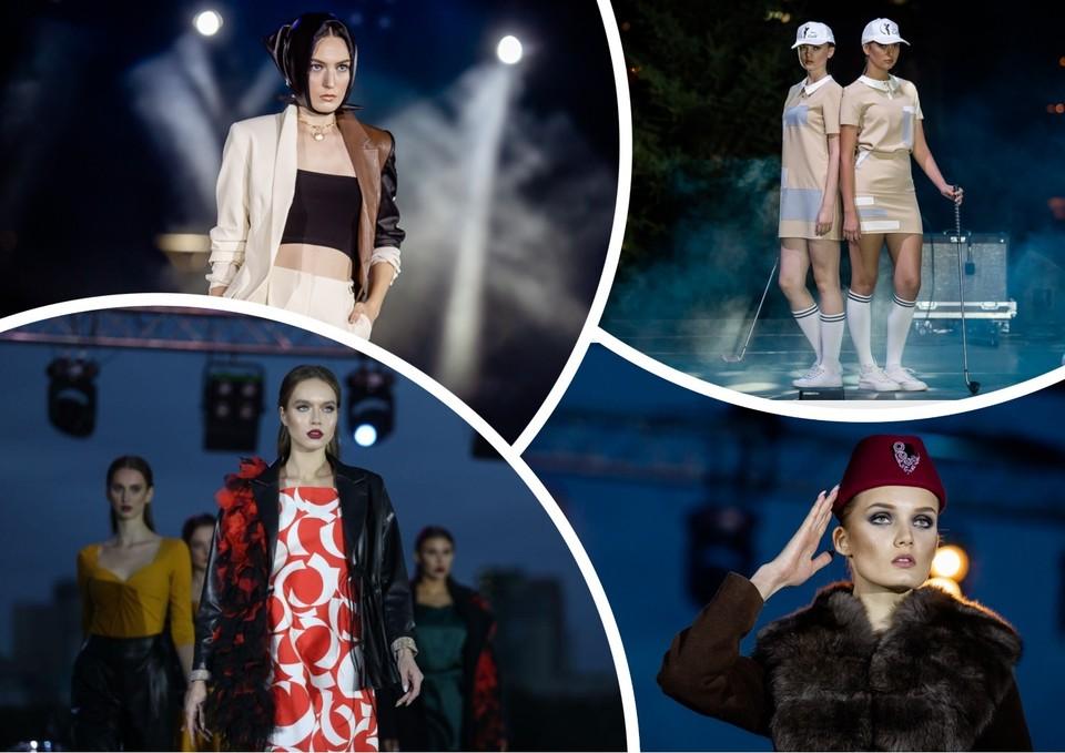 Форма для гольфа, кожаные косынки и яркие принты: что представили на закрытом «Параде моды» в День города Челябинска