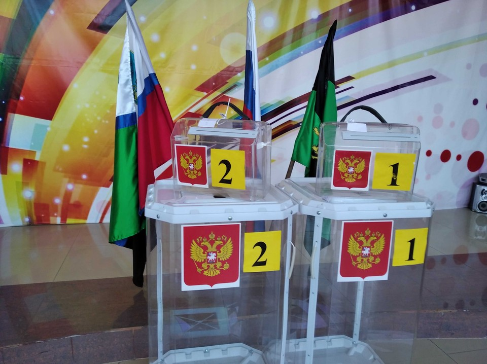 Как проходит голосование по выборам депутатов облдумы в Белгородской области.