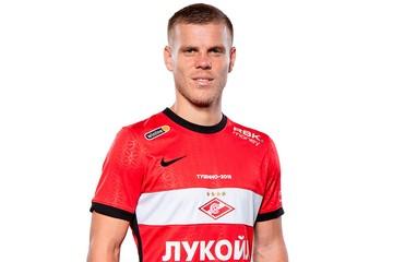 Кокорин впервые сыграл за Спартак