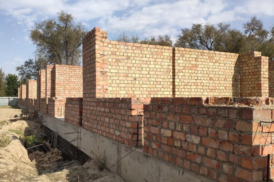 Пока так выглядит школа мечты в селе Западном Сокулукского района.