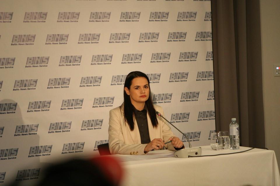 Светлана Тихановская заранее отказалась признавать соглашения, которые достигнут на встрече Лукашенко и Путина в Сочи