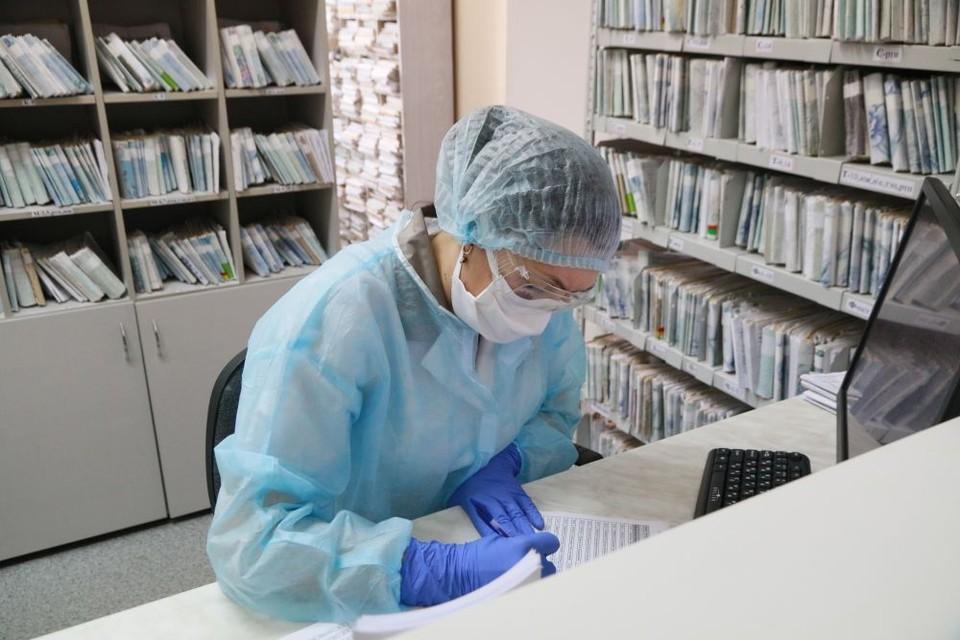 На базе горбольницы №2 расположен бийский «ковидный» госпиталь