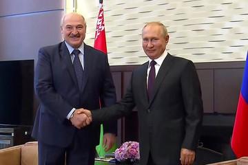 Путин и Лукашенко почти пять часов обсуждали конституционную реформу и подъем экономики