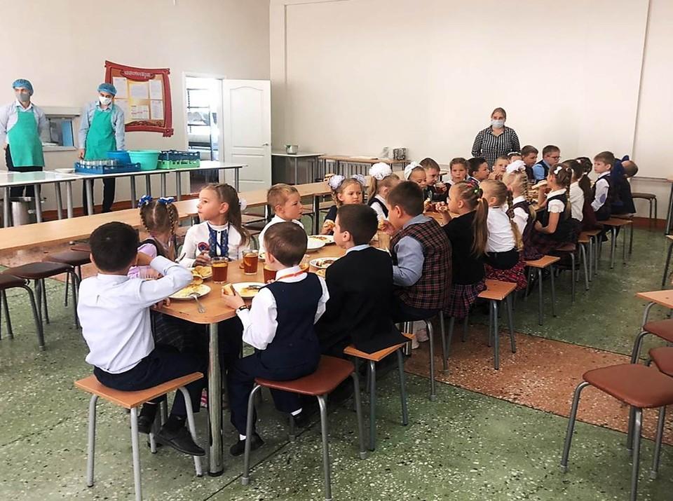 Детям питание нравится. Фото: правительство Амурской области