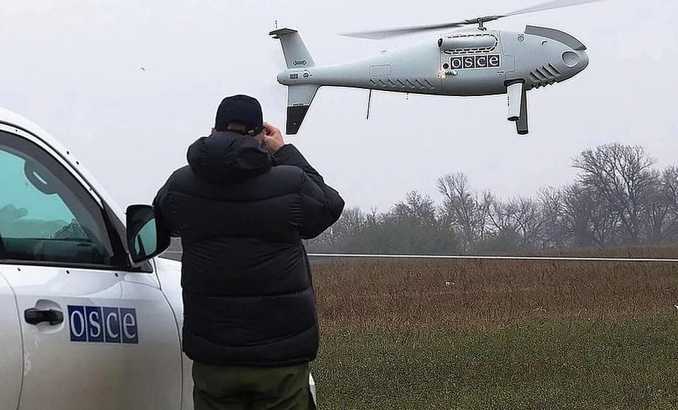 Командующий «ООС» Владимир Кравченко приказал своим военным уничтожать беспилотники ОБСЕ в Донбассе. Фото: ОБСЕ