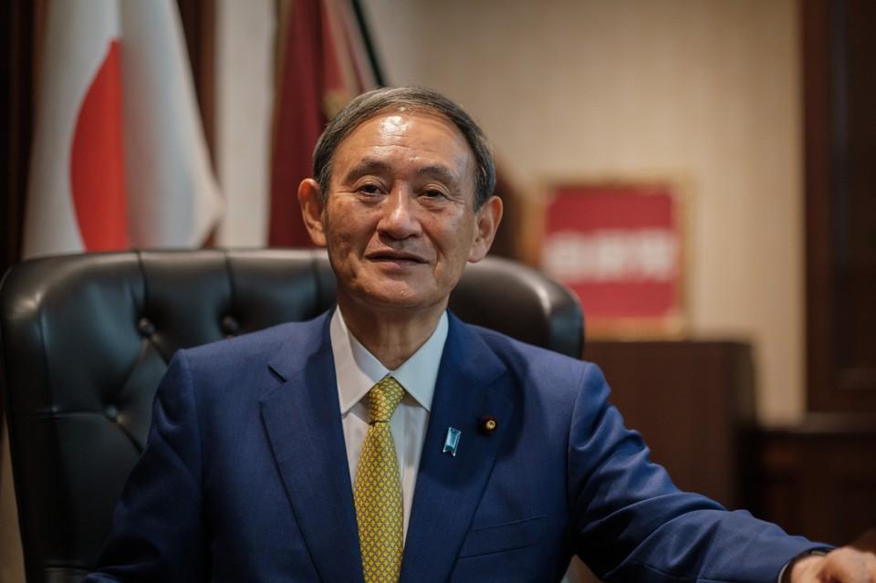 Ёсихидэ Суга стал новым премьер-министром Японии
