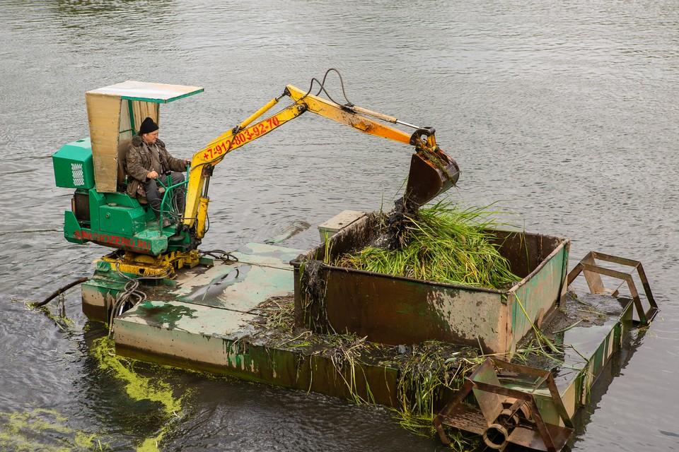 За два года в Челябинске удалось очистить больше двенадцати гектаров реки.