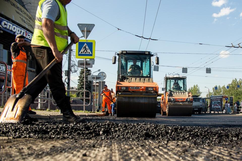 Дорога готова у на 80%, для завершения работ нужно около месяца.