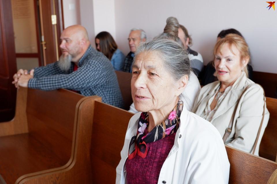 Зинаида Ивановна сказала в суде, что никогда не голосовала за Лукашенко