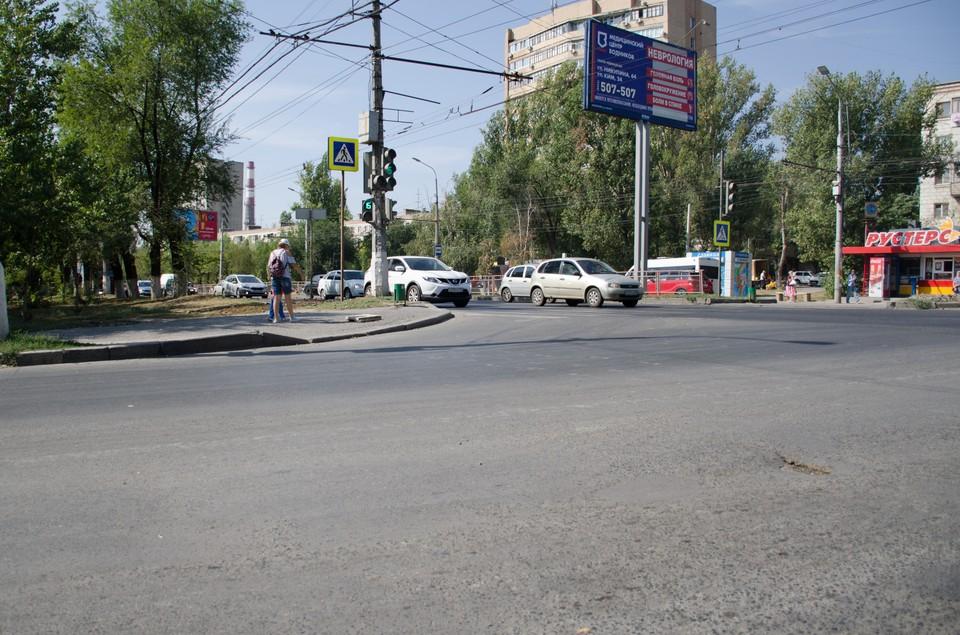Перекресток улиц 64-й Армии и Маресевой модернизируют.