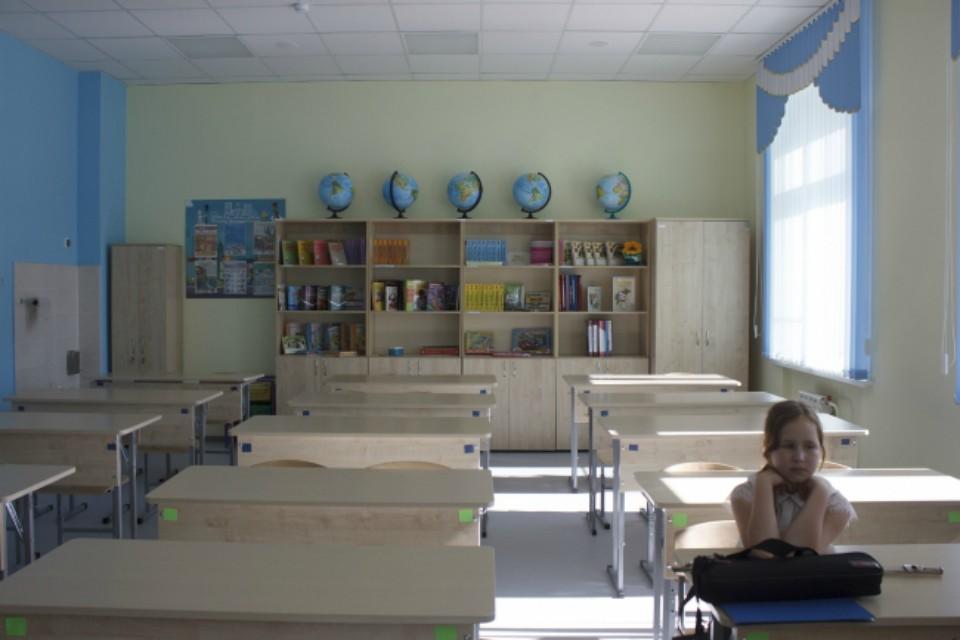Школьники временно будут учиться дома.
