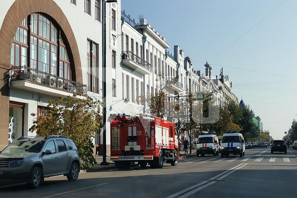 В Красноярске сообщили о минировании института искусств