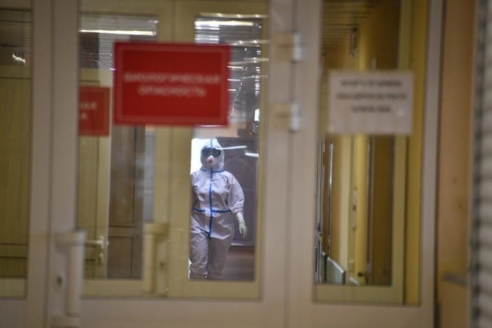 В Кузбассе за сутки зафиксировали 124 новых случая коронавируса