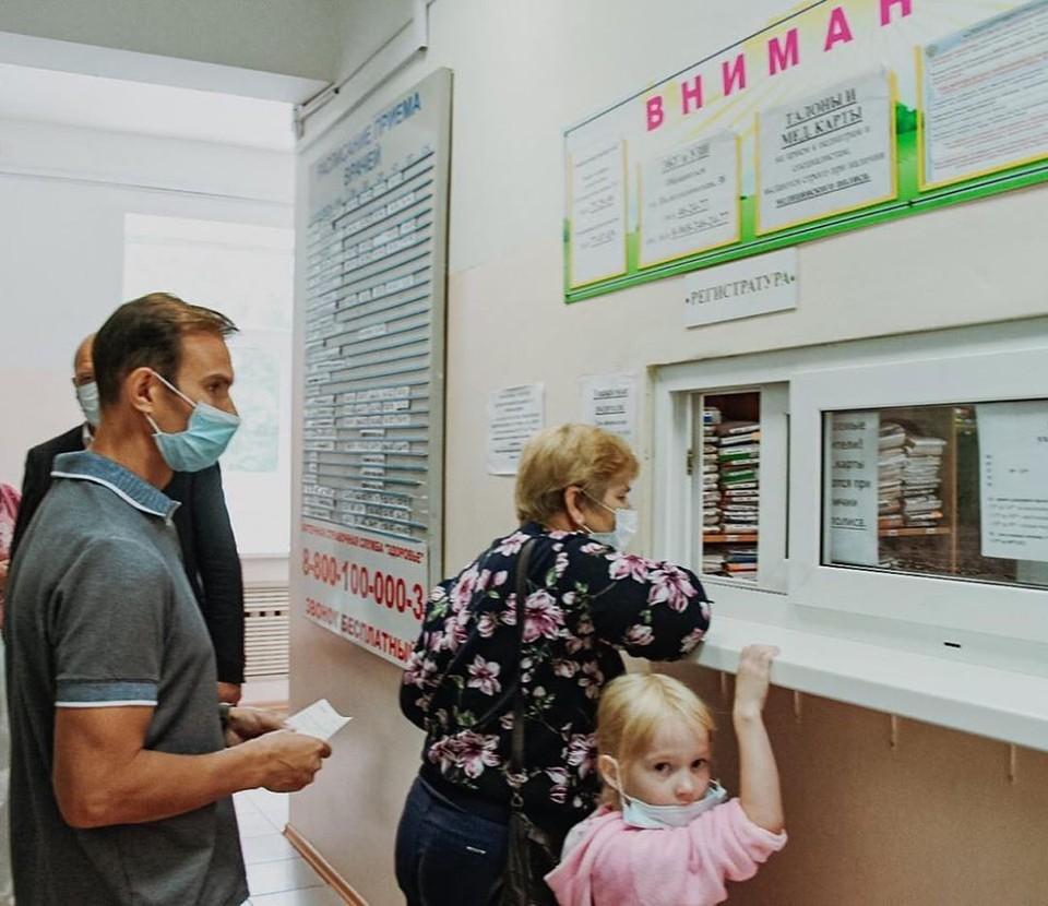 Количество пациентов увеличивается день ото дня. Фото: www.instagram.com/va.orlov/