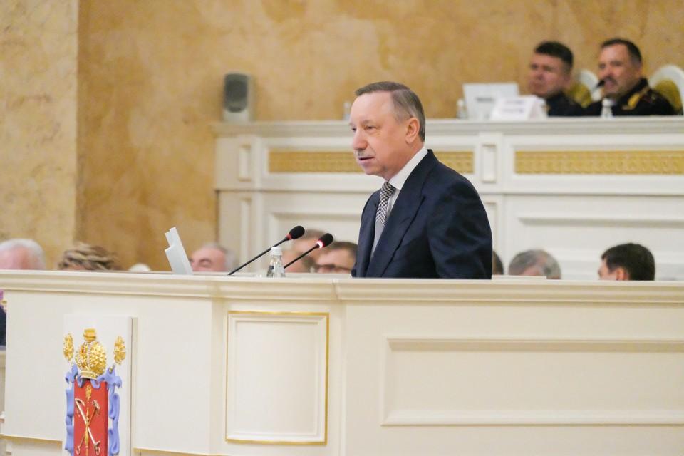 Губернатор Петербурга подвел итоги минувшей недели