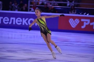 Софья Акатьева выиграла первый этап Кубка России по фигурному катанию среди юниорок