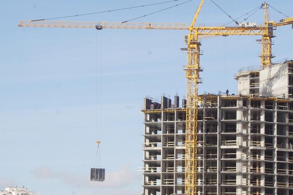 Гибель рабочего произошла при строительстве дома на улице Амундсена