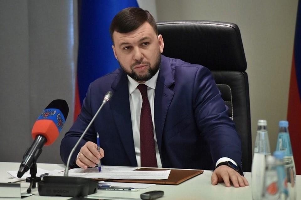 Пушилин: «Все должно решаться само собой». Фото: Администрация Главы ДНР