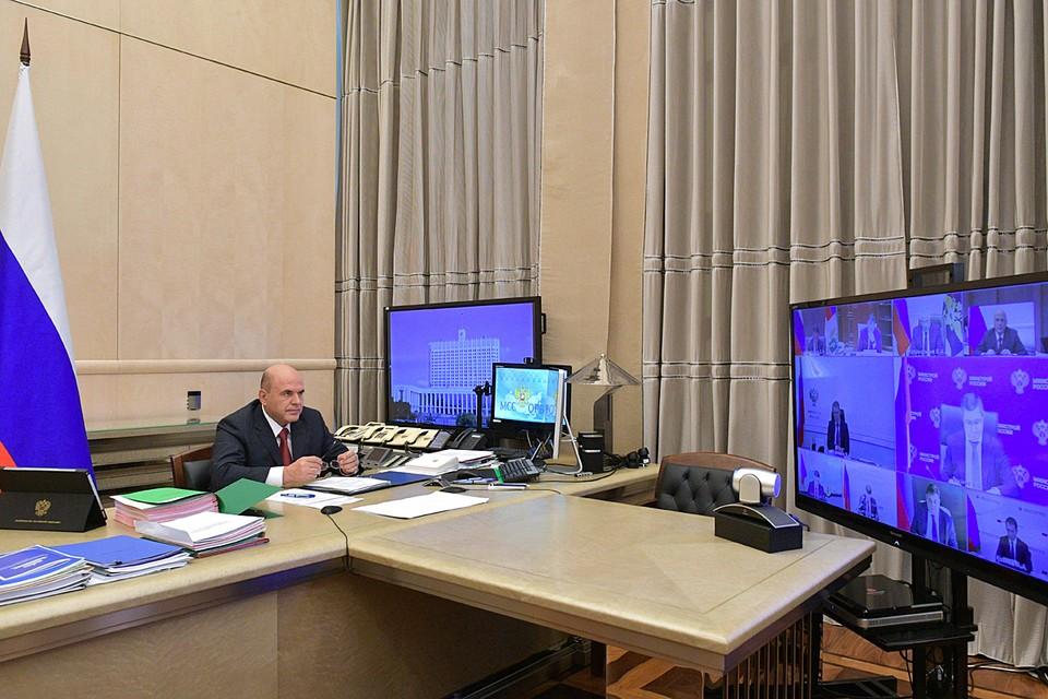 Мишустин также рассказал, что правительство вводит электронные сертификаты для обеспечения инвалидов техническими средствами реабилитации. Фото: Александр Астафьев/POOL/ТАСС