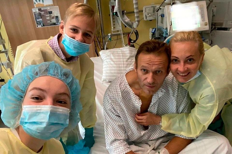 Алексей Навальный был пациентом немецкой клиники Шарите