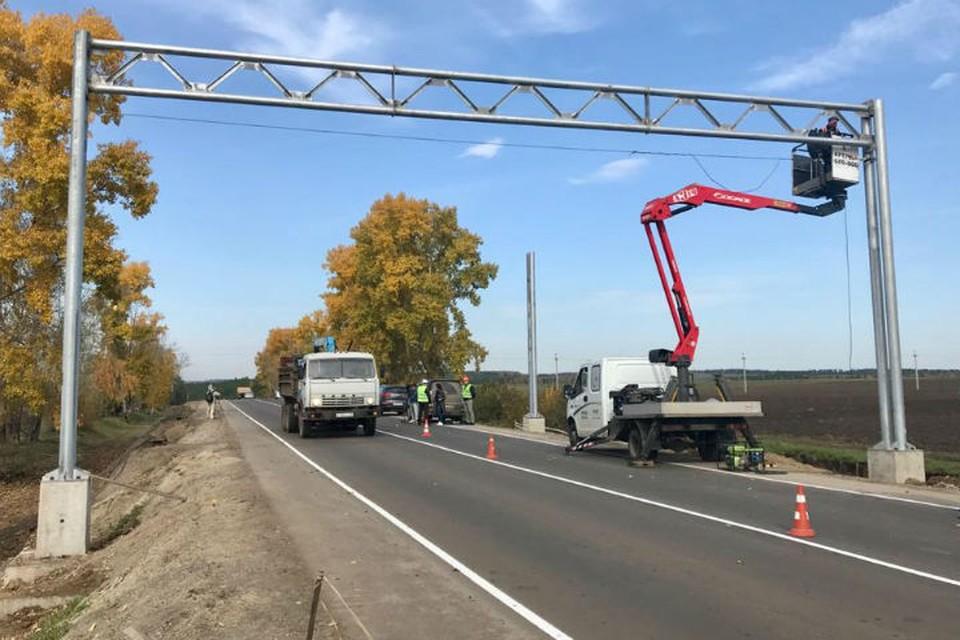 Первый автоматический пункт весогабаритного контроля в Иркутской области появится на Александровском тракте. Фото: правительство Иркутской области.