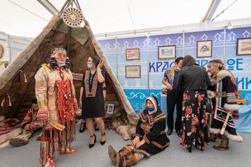 В Москве открылась выставка-ярмарка «Сокровища севера