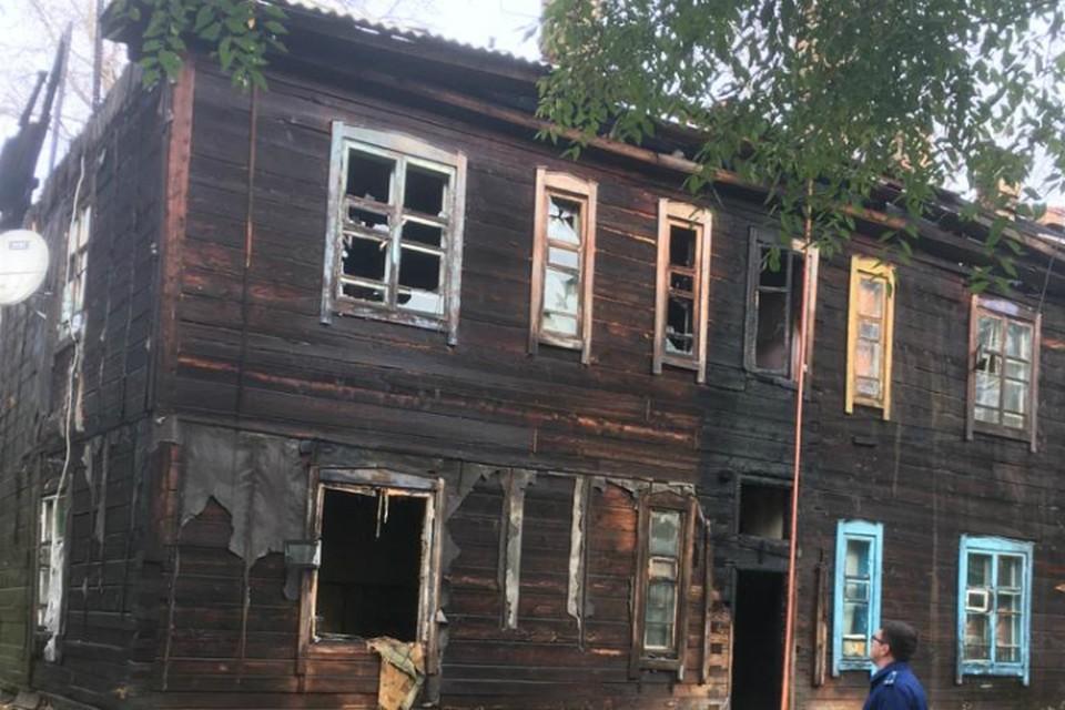 Прокуратура проводит проверку гибели человека при пожаре в Хабаровском крае ФОТО: пресс-служба краевой прокуратуры