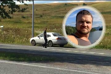 «Из груди закапала кровь»: случайный водитель спас жертву нападения полицейского-убийцы