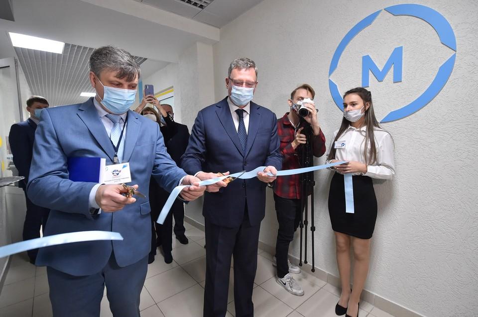 Губернатор открыл в омском авиационном колледже новые мультимедийные мастерские