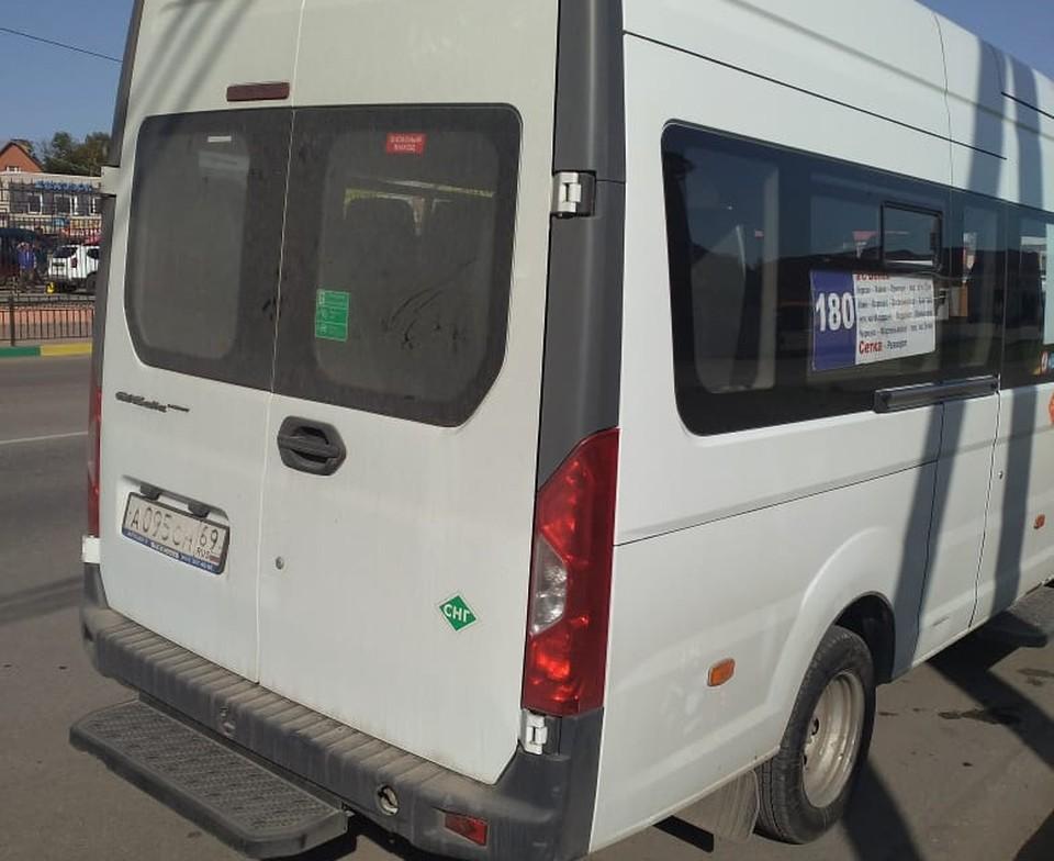 В Тульской области полицейские наказали иностранного водителя маршрутки