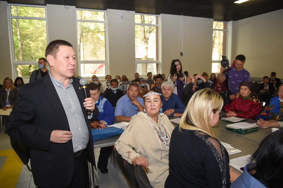 Президент Ассоциации Григорий Ледков. Автор фото: Евгений ТУМАШОВ