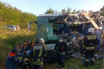 В ДТП с автобусом в Калининградской области погибли 7 человек