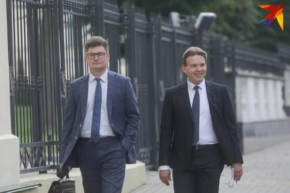 Максим Знак (справа) и Дмитрий Лаевский (слева).