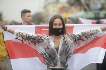 В Минске провели марш - «инаугурацию Тихановской»