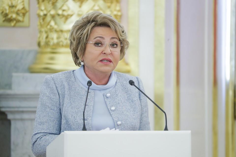 Матвиенко заявила, что ситуация в Нагорном Карабахе чревата полномасштабным военным конфликтом