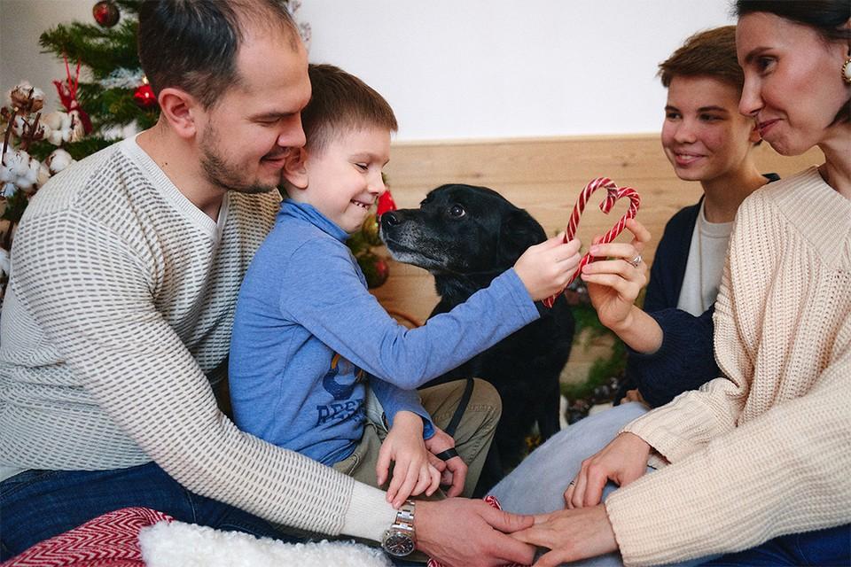 У семьи Нелюбиных шесть домашних питомцев. Фото: предоставлено героем публикации