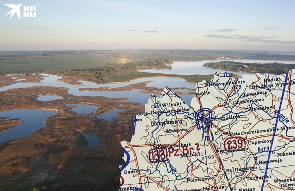 Водохранилища на Проне тогда еще не было, но где-то в этих местах и выходила к своим 239-я стрелковая дивизия.