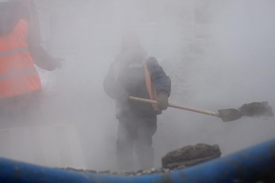 Несколько районов остались без тепла из-за аварии в Анжеро-Судженске