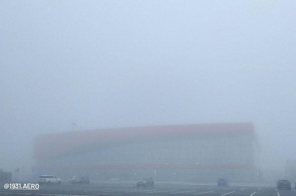Аэровокзал не видно даже с земли, с неба — тем более. Фото: читатель КП