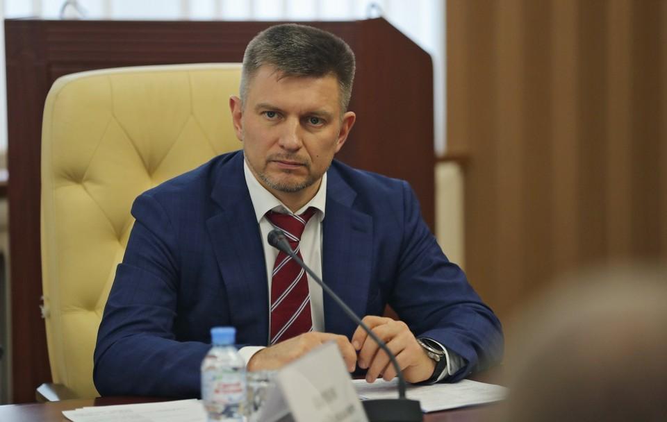 Карпов уволен с поста министра транспорта. Фото: Сергей Аксенов on Twitter