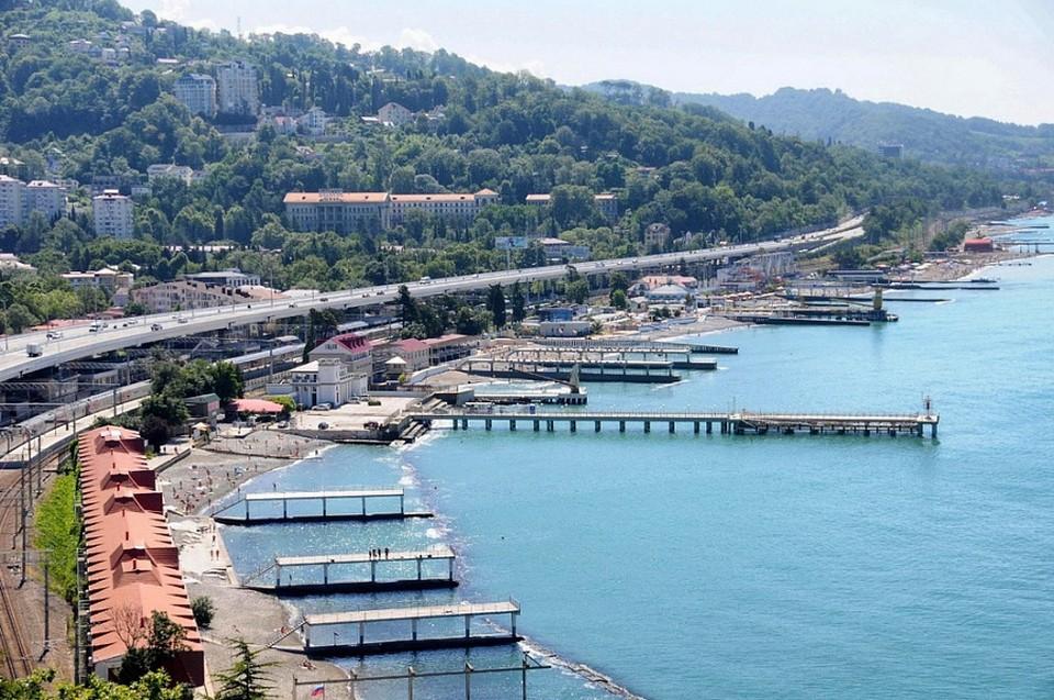 Курортный сезон на Черноморском побережье продолжается весь год. Фото: пресс-служба администрации Краснодарского края.
