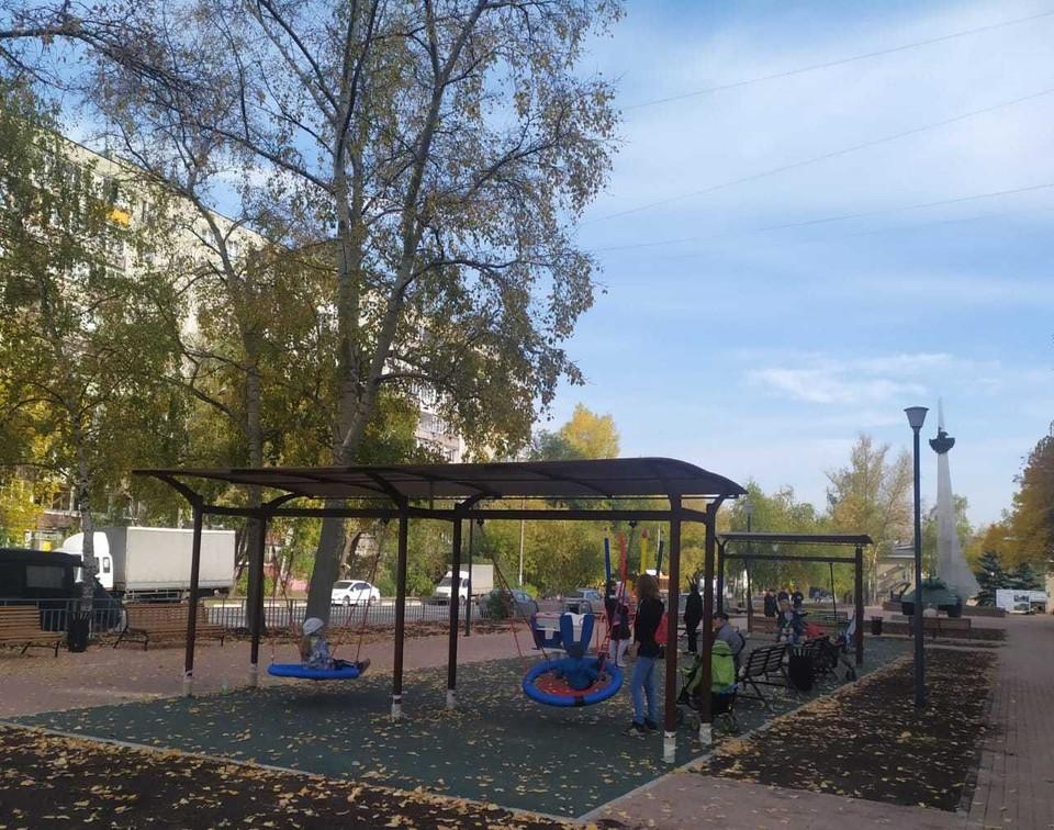 Сквер на проспекте Кораблестроителей открылся после благоустройства. Фото: администрация Нижнего Новгорода