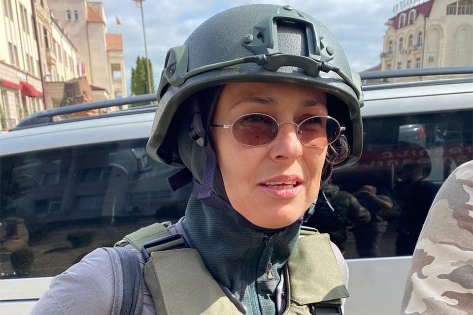 Юлия Чичерина приехала в Нагорный Карабах.