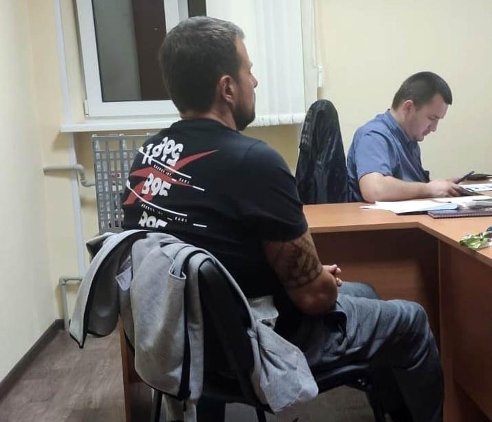 У следствия есть вопросы к этому гражданину. Фото: crim.sledcom.ru