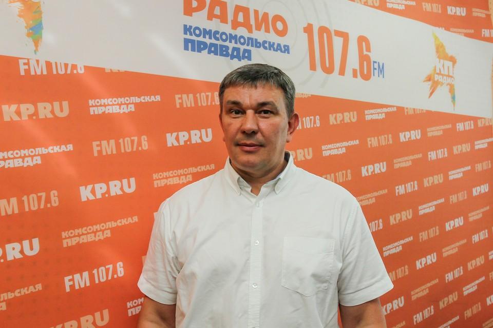 Министр транспорта и дорожного хозяйства Удмуртии Алексей Горбачев